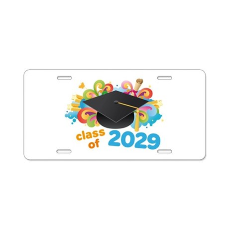 2029 graduation Aluminum License Plate