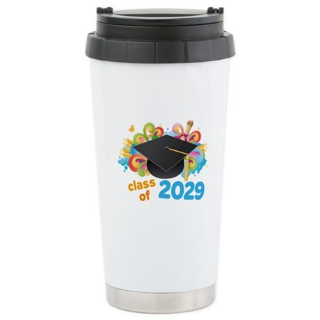 2029 graduation Stainless Steel Travel Mug
