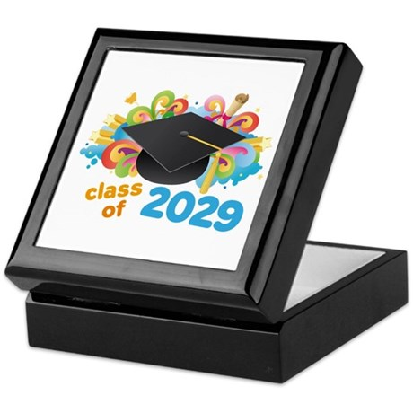 2029 graduation Keepsake Box