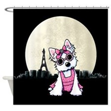 Paris Night Olivia Shower Curtain