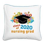 2020 graduation Square Canvas Pillow