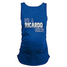 Its A Ricardo Thing Maternity Tank Top
