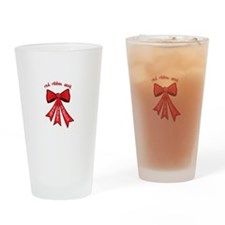 Red Ribbon Week Drinking Glass