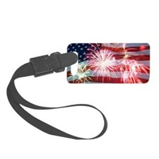4th of July Luggage Tag