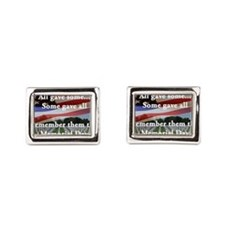 Memorial Day Rectangular Cufflinks