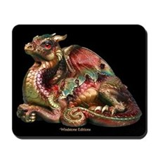Autumn Leaf Old Warrior Mousepad