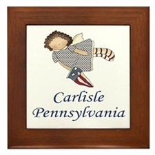 Carlisle Pennsylvania Framed Tile