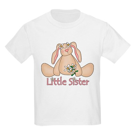 Daisy Bunny Little Sister Kids Light T-Shirt