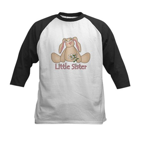 Daisy Bunny Little Sister Kids Baseball Jersey