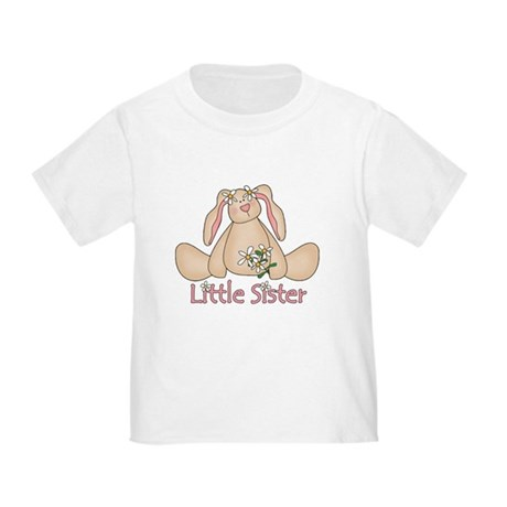 Daisy Bunny Little Sister Toddler T-Shirt
