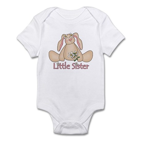 Daisy Bunny Little Sister Infant Bodysuit