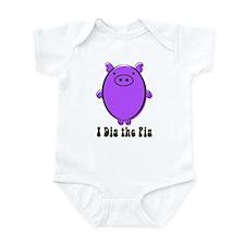 Unique Peace love bbq Infant Bodysuit