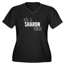 Its A Sharon Thing Plus Size T-Shirt