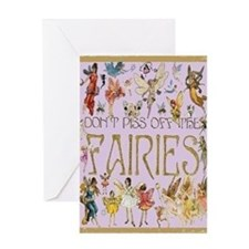 Fairies Card Greeting Cards
