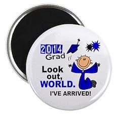 2014 Stick Grad 1.1 Blue Magnet