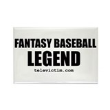 &quot;LEGEND&quot; Rectangle Magnet (100 pack)