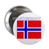 "Norway Flag (Dark) 2.25"" Button (10 pack)"