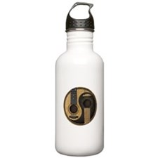 Old And Worn Acoustic Stainless Water Bottle 1.0l