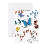 Unique Wing designs Greeting Cards (Pk of 10)