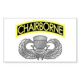 Chairborne Wings Decal