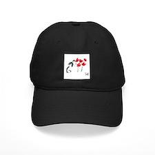 red flowers Baseball Hat