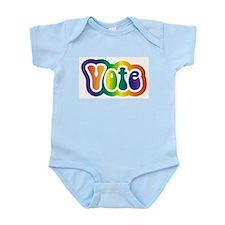 Hippy Vote Infant Creeper