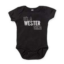 Its A Wester Thing Baby Bodysuit
