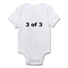 3 of 3 infant bodysuit/onesie