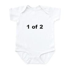 1 of 2 infant bodysuit/onesie