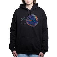 Yarn Ball Women's Hooded Sweatshirt