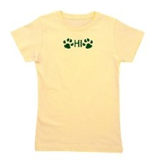Paw Prints Girl's Tee
