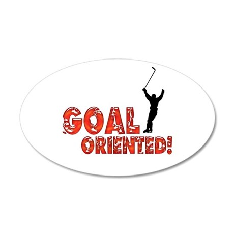 Goal Oriented Wall Decal