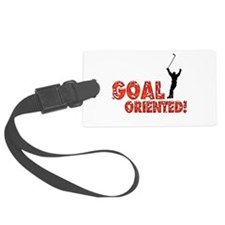 Goal Oriented Luggage Tag