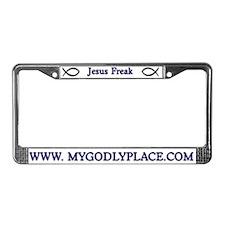Unique Christians License Plate Frame