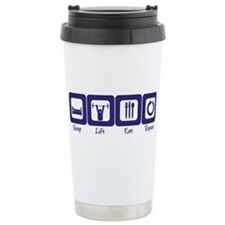 Cool Powerlifting Travel Mug