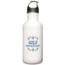 Golf Sparkles Water Bottle