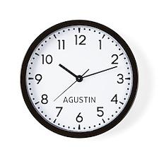 Agustin Newsroom Wall Clock