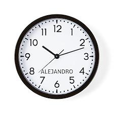 Alejandro Newsroom Wall Clock