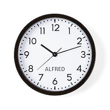 Alfred Newsroom Wall Clock