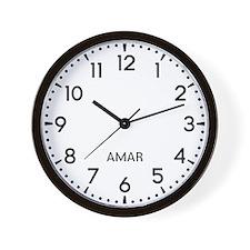 Amar Newsroom Wall Clock