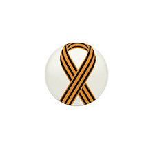 Saint George Ribbon Mini Button