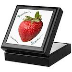 Strawberry Squared Keepsake Box