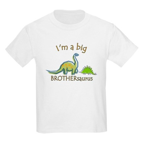 I'm a Big Brother Dinosaur Kids Light T-Shirt