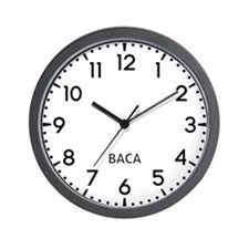 Baca Newsroom Wall Clock