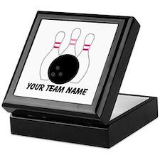 Bowling Team Personalized Keepsake Box