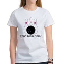 Bowling Team Personalized T-Shirt