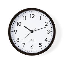 Bali Newsroom Wall Clock