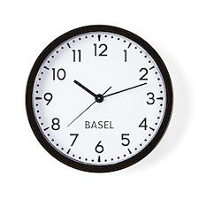 Basel Newsroom Wall Clock