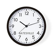 Batesville Newsroom Wall Clock