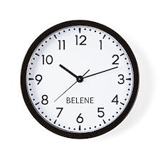 Belene Newsroom Wall Clock
